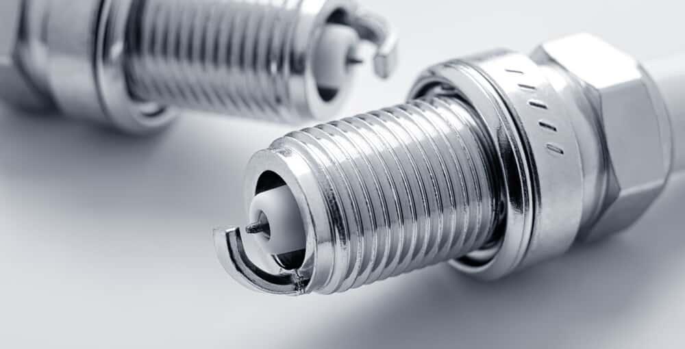 Double Platinum Spark Plugs