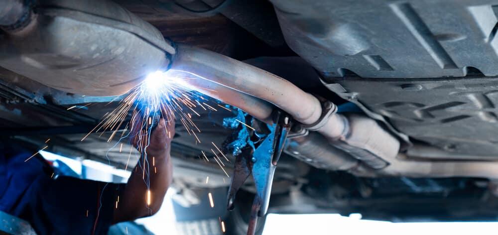 Exhaust Leak Repair
