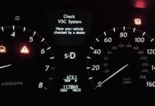 VSC Light on Toyota & Lexus - Meaning, Causes (How to Reset)