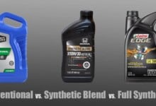 Conventional vs Synthetic Blend vs Full Synthetic Oil (Which to Use?)