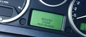 Reduced Engine Power Warning