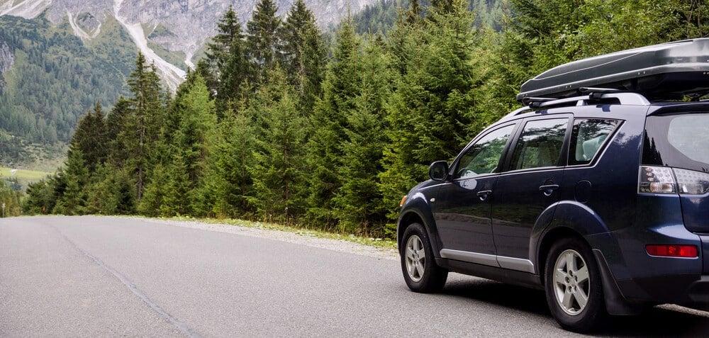 car drive mountains