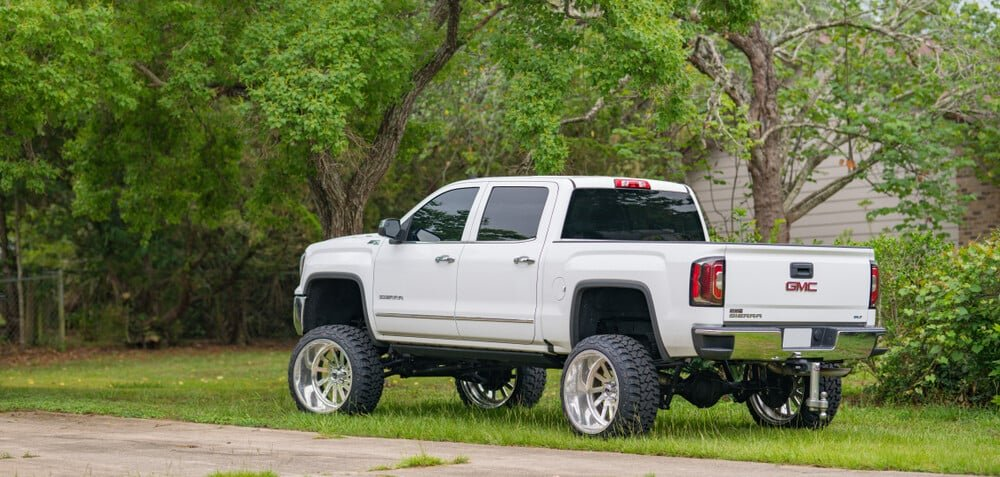 Lifted Pick Up Truck