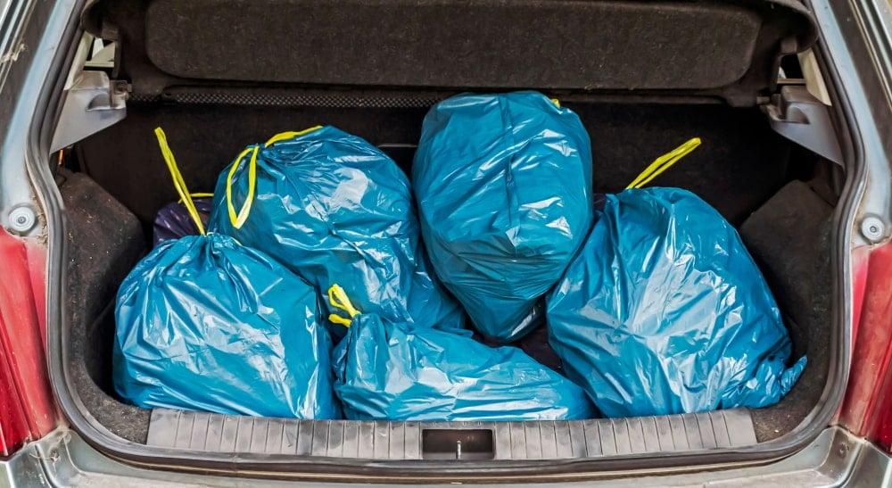Trash In Trunk